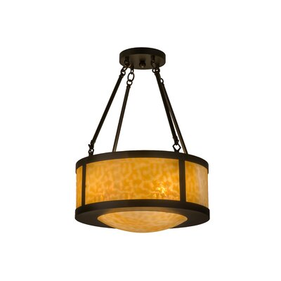 Greenbriar 4-Light Semi Flush Mount