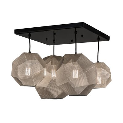 Greenbriar Oak 4-Light Pendant