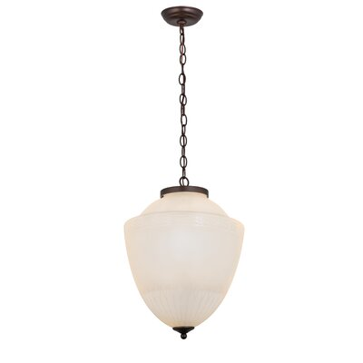 Greenbriar Oak Ovum Aquinum Urn 2-Light Mini Pendant