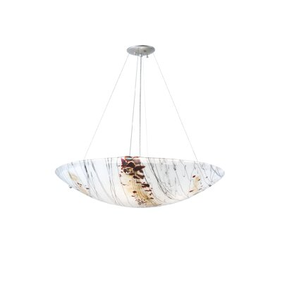 Greenbriar Oak Ramoscelli 4-Light Inverted Pendant