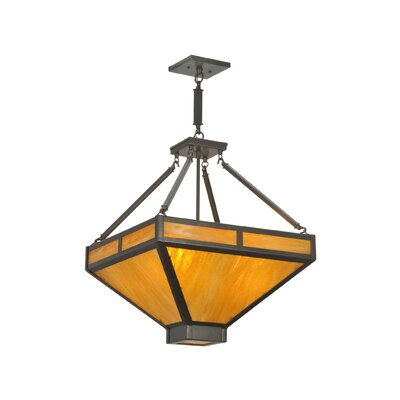 Whitewing 4-Light Inverted Pendant