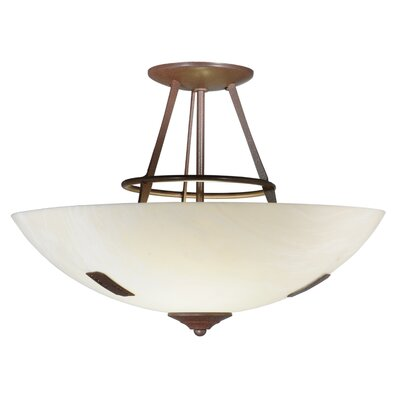 Essence 2-Light Semi-Flush Mount