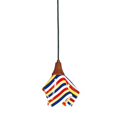 Metro Fusion Stripes 1-Light Mini Pendant