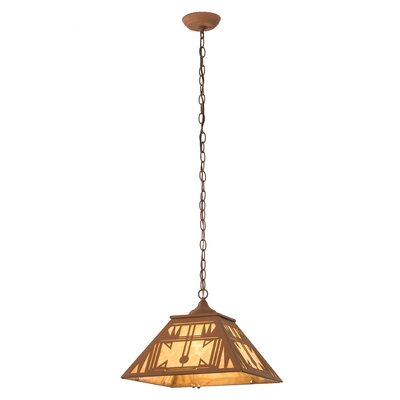 Southwest 2-Light Geometric Pendant