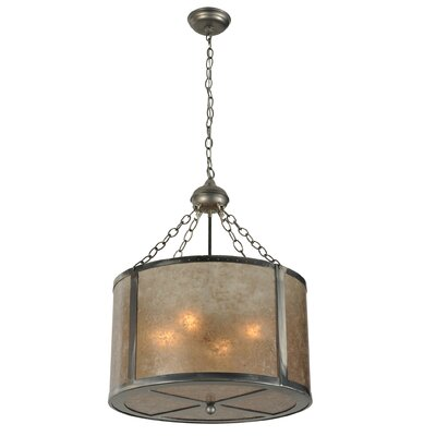Smythe Craftsman 4-Light Drum Pendant