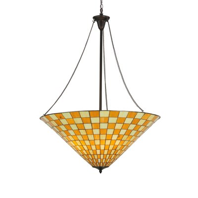 Greenbriar Oak 5-Light Inverted Pendant