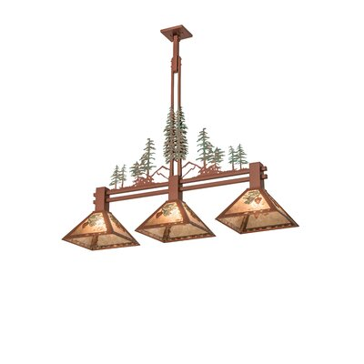 Tall Pines 3-Light Kitchen Island Pendant