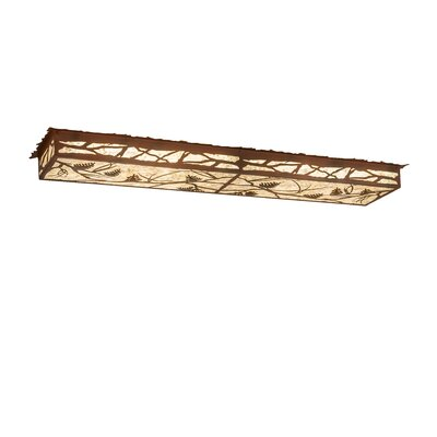 Whispering Pines LED Flush Mount