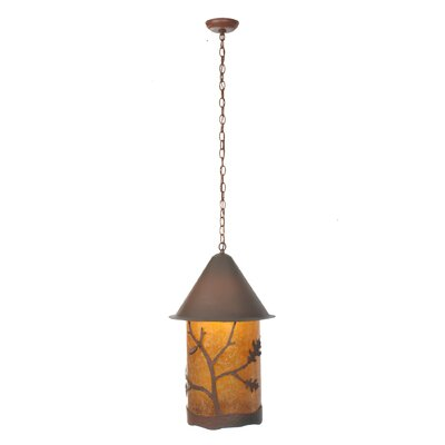 Oak Leaf and Acorn 1-Light Mini Pendant
