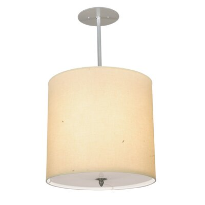 Cilindro Textrene 4-Light Drum Pendant