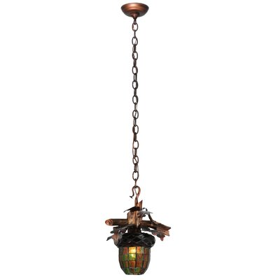 Acorn Branch 1-Light Mini Pendant