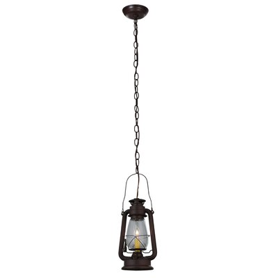Miners Lantern 1-Light Foyer Pendant