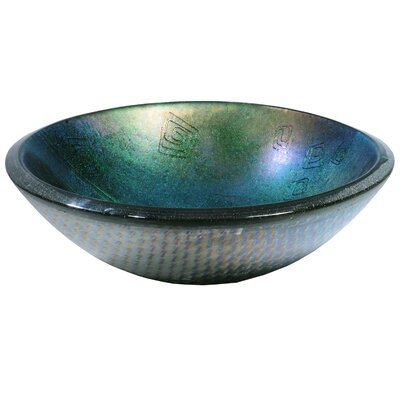 Metro Fusion Fiddleheads Circular Vessel Bathroom Sink