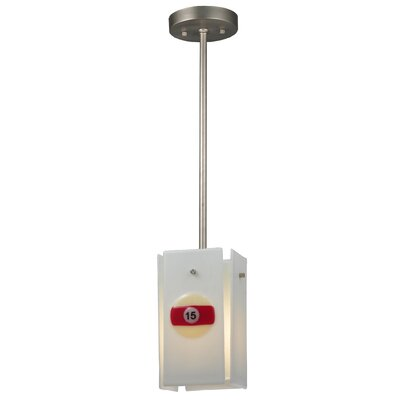 Metro Fusion Pool Balls Quadrato 1-Light Mini Pendant