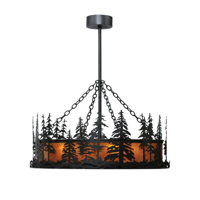Tall Pines 4-Light Inverted Pendant