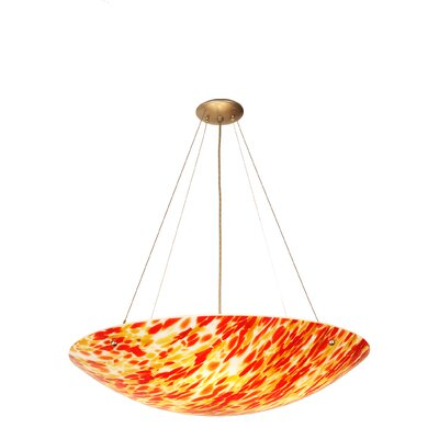 Topazio 4-Light Inverted Pendant
