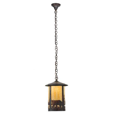Fulton Northwoods Bear Creek 1-Light Mini Pendant