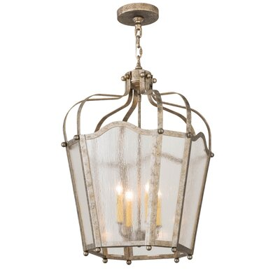 Citadel 4-Light Foyer Pendant