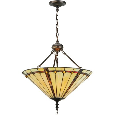 Belvidere 3-Light Inverted Pendant