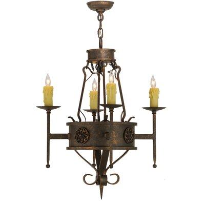 Lorenzo 4-Light Candle-Style Chandelier
