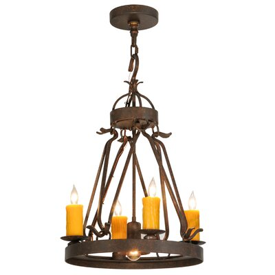 Lakeshore with Downlight 5-Light Candle-Style Chandelier