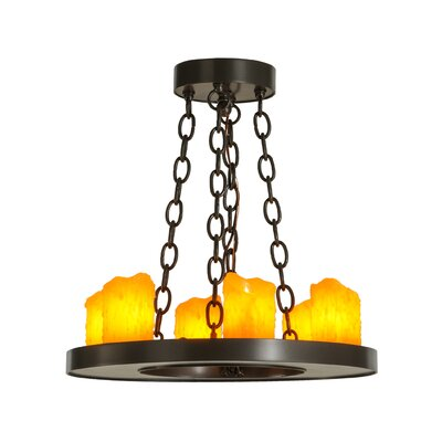 Loxley 6-Light Candle-Style Chandelier