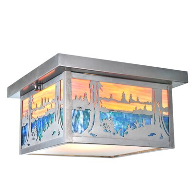 Hyde Park Quiet Pond 2-Light Flush Mount