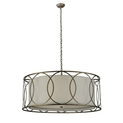 Revival Deco Cilindro 4-Light Drum Pendant