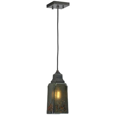 Metro Fusion Distressed Draped 1-Light Mini Pendant