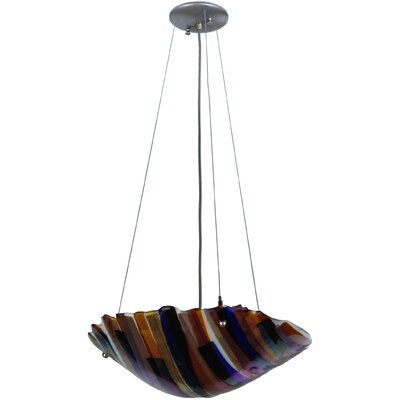 Metro Fusion Oceano 3-Light Inverted Pendant