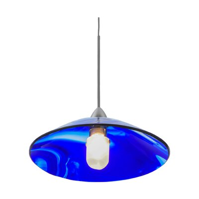 Metro Curacao Swirl 1-Light Mini Pendant
