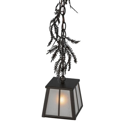 Pine Branch 1-Light Mini Pendant