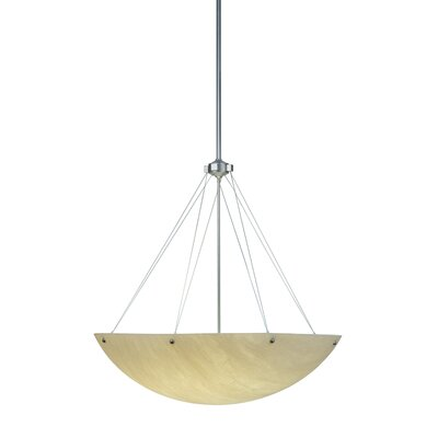 Cypola Alabaster 8-Light Inverted Pendant