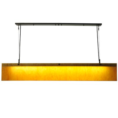 Quadrato Linear 1-Light Kitchen Island Pendant