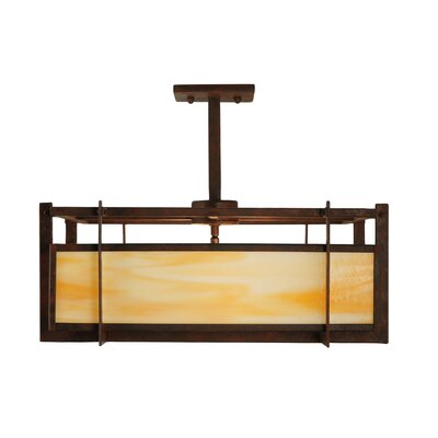 Boulder Creek 2-Light Geometric Pendant