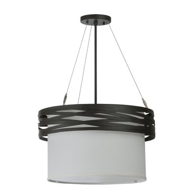 Cilindro Complex 2-Light Drum Pendant