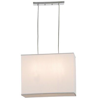 Quadrato 2-Light Geometric Pendant