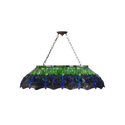 Greenbriar Oak 6-Light Pendant