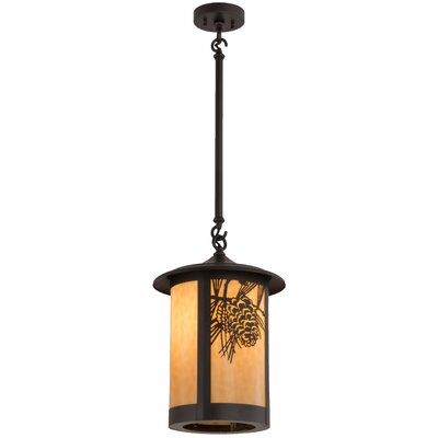 Fulton Winter Pine 1-Light Mini Pendant
