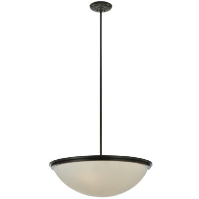 Greenbriar Oak 6-Light Inverted Pendant