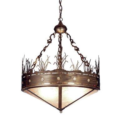 Craftsman Target 4-Light Inverted Pendant