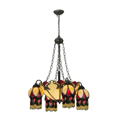 Isabella 8-Light Shaded Chandelier