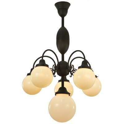 Lafayette 6-Light Shaded Chandelier