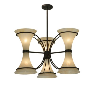 Chronos 6-Light Shaded Chandelier
