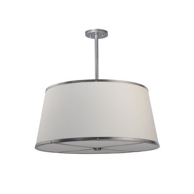 Cilindro Cream 3-Light Drum Pendant