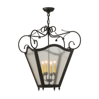 Terena 4-Light Foyer Pendant