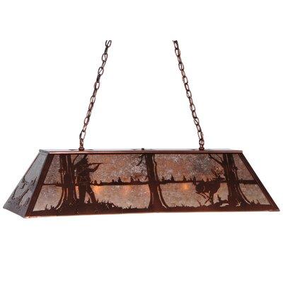 Deer Hunter 9-Light Pool Table Light