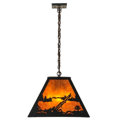 Mountain Range 9-Light Pool Table Light