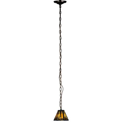 Sierra Prairie Mission 1-Light Mini Pendant