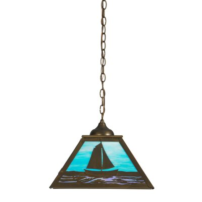 Sailboat 1-Light Mini Pendant
